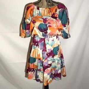 Ann Taylor Loft Floral Dress Sz XXXS E26